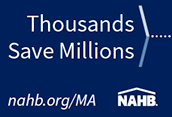 NAHB Member advantage program Banner Ad